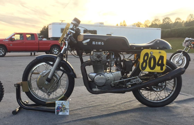 AHRMA Race Winner - 1973 Honda CB350
