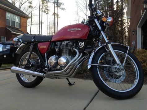 Honda CB400F - Right Side
