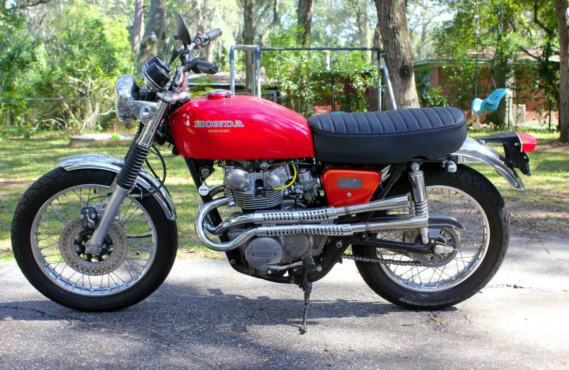CL Pipes - 1974 Honda CB450