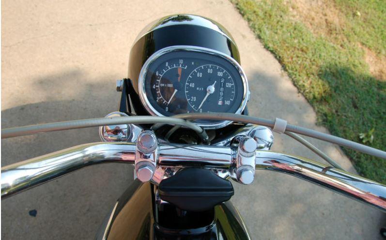 Honda CB450 Super Sport - Gauges