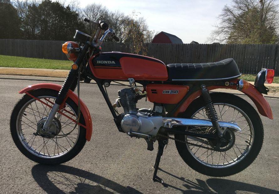 Honda Of Murfreesboro >> Rare in the US – 1972 Honda CB50 – Bike-urious