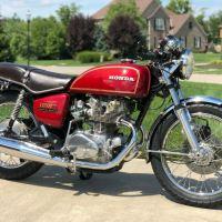 No Reserve - 1976 Honda CB500T