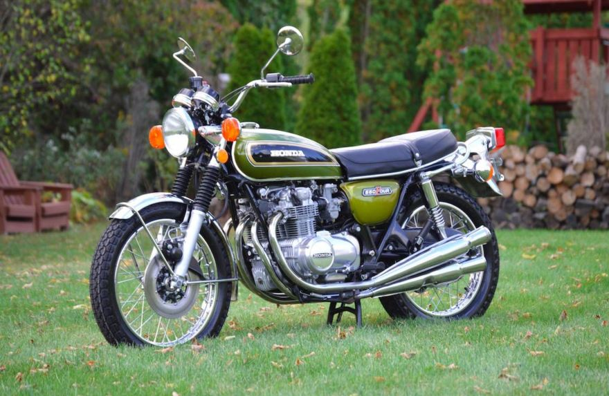 Restored  U2013 1975 Honda Cb550  U2013 Bike