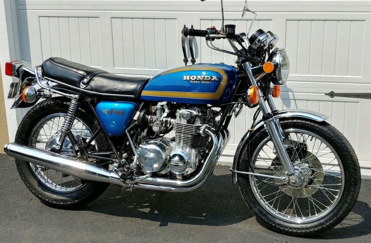 1977 Honda Cb550f Super Sport  U2013 Bike