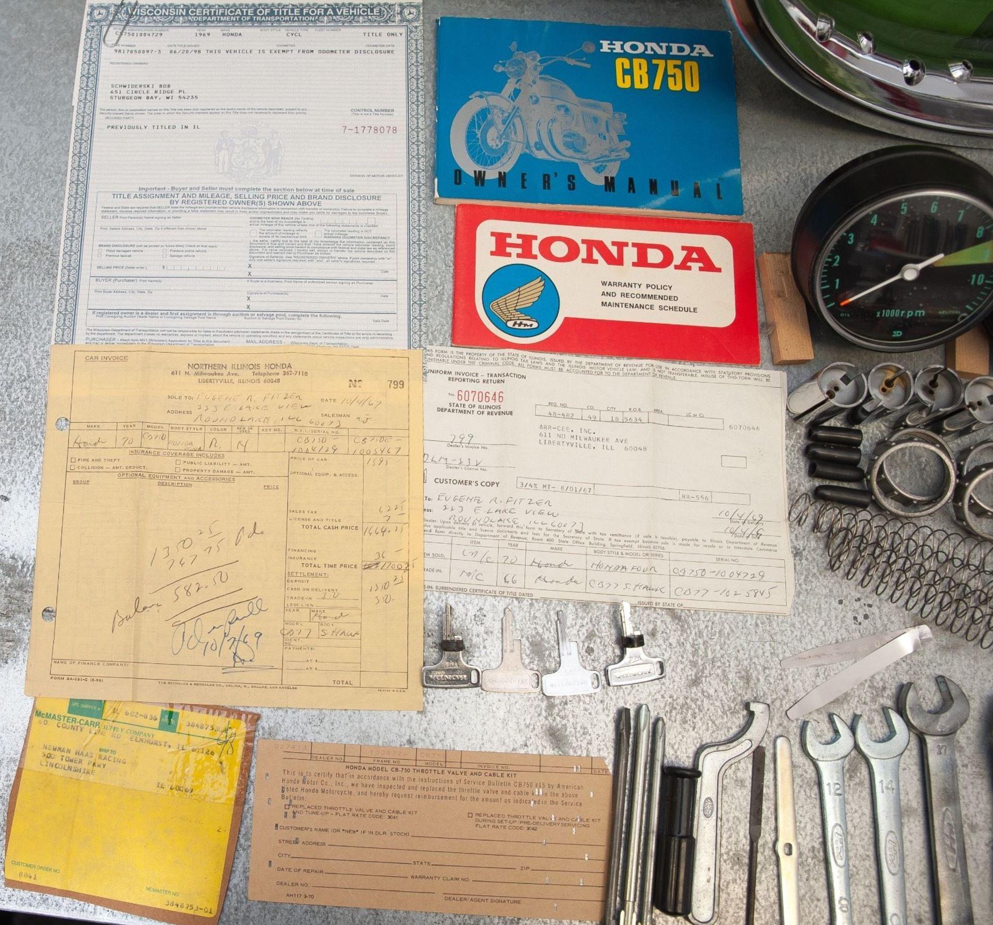 Sandcast K0 – 1969 Honda CB750 – Bike-urious