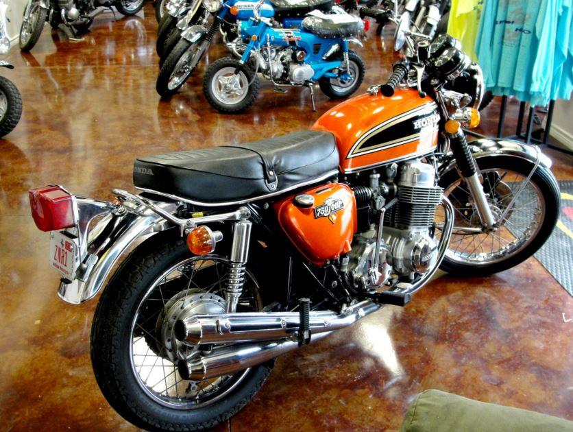 Honda Dual Sport Future >> 1974 Honda CB750   Bike-urious