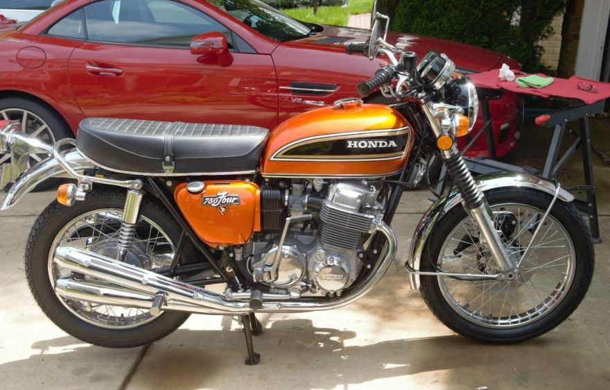 Restored  U2013 1973 Honda Cb750 K3
