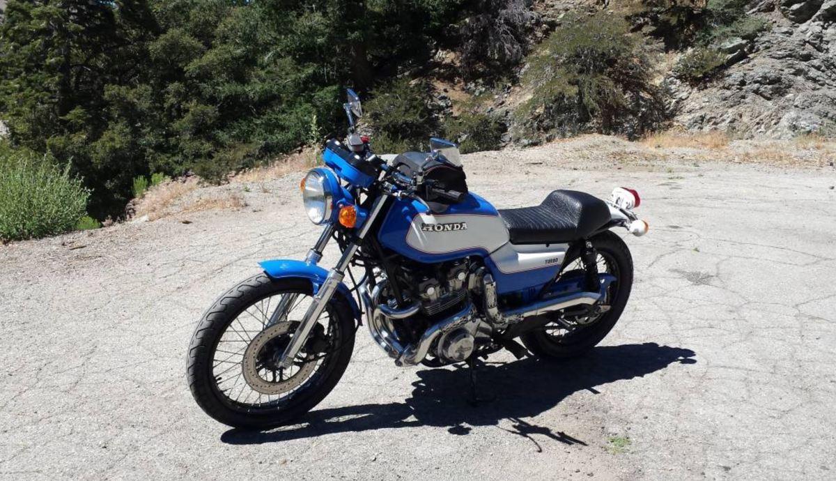 Turbocharged Custom - 1979 Honda CB750K
