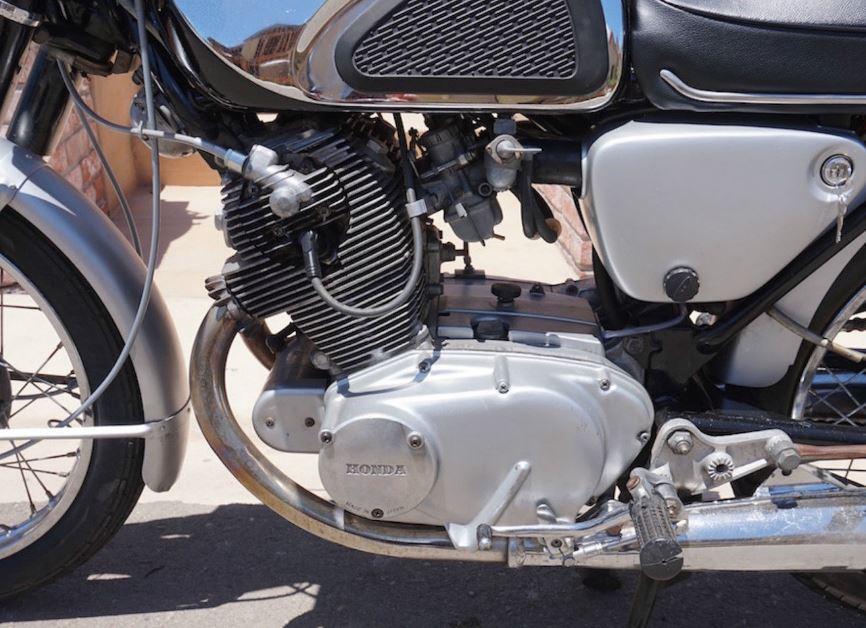 Honda Cb77 Superhawk Engine Bike Urious