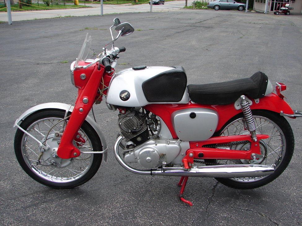 Honda-CB92-Benly-Super-Sport-Left-Side Harley Sportster Wiring Harness on