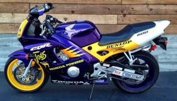 320 Miles 1996 Honda Cbr600 Smokin Joes Bike Urious