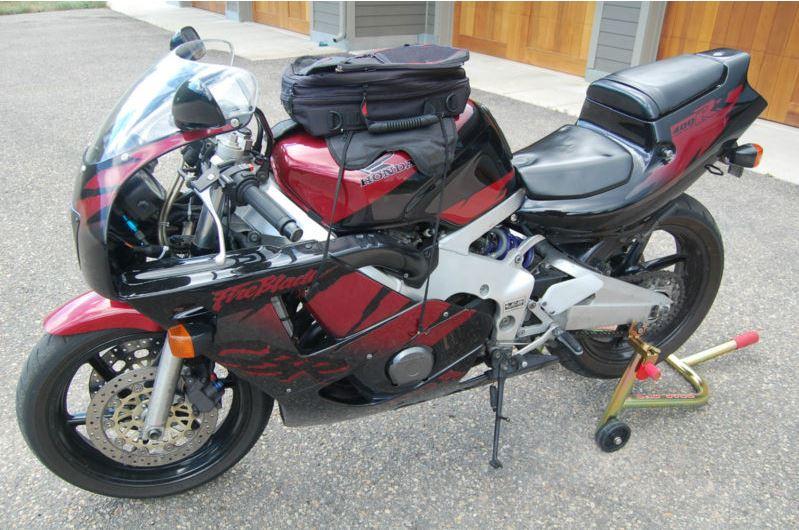 Honda CBR400RR - Left Side