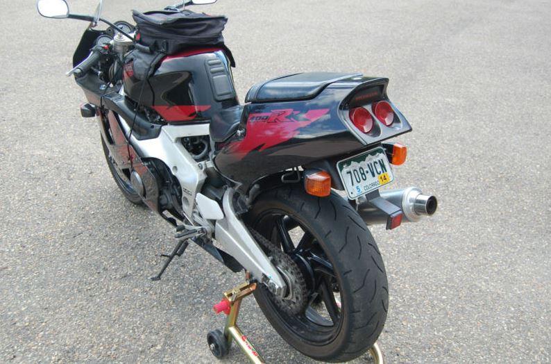 Honda CBR400RR - Rear