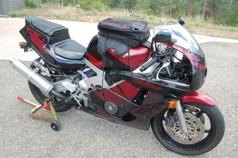 Honda CBR400RR - Right Side