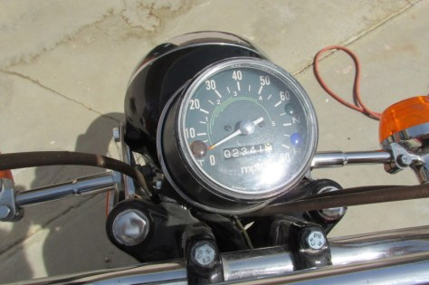 Honda CL125 Suitcase Cycle - Gauges
