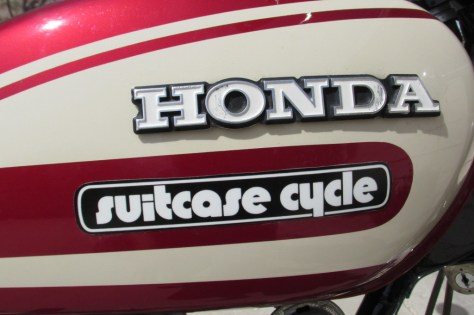 Honda CL125 Suitcase Cycle - Tank Side