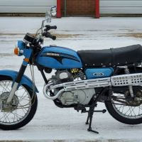 1-Owner, No Reserve - 1972 Honda CL175