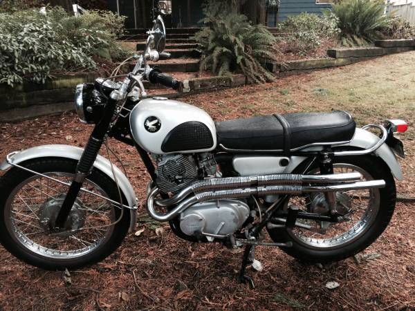 Honda CL77 305 Scrambler - Left Side