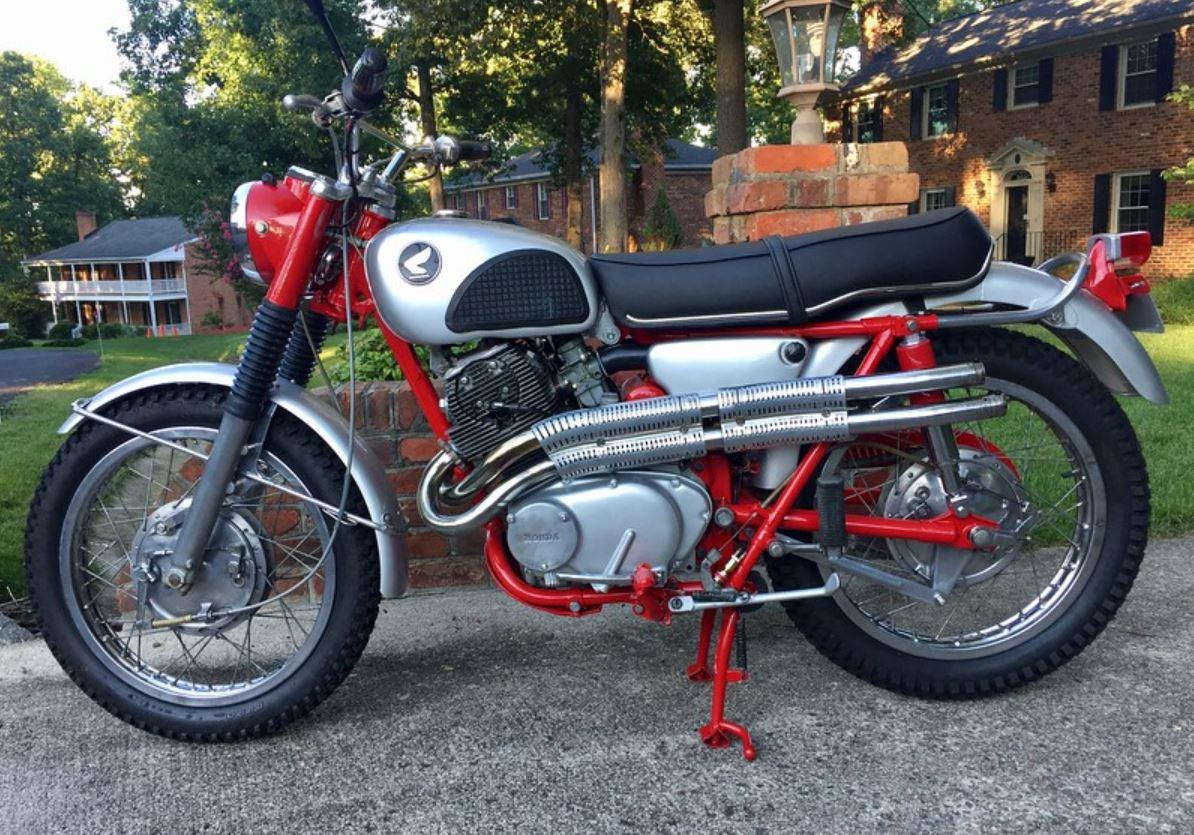 Restored - 1966 Honda CL77 Scrambler