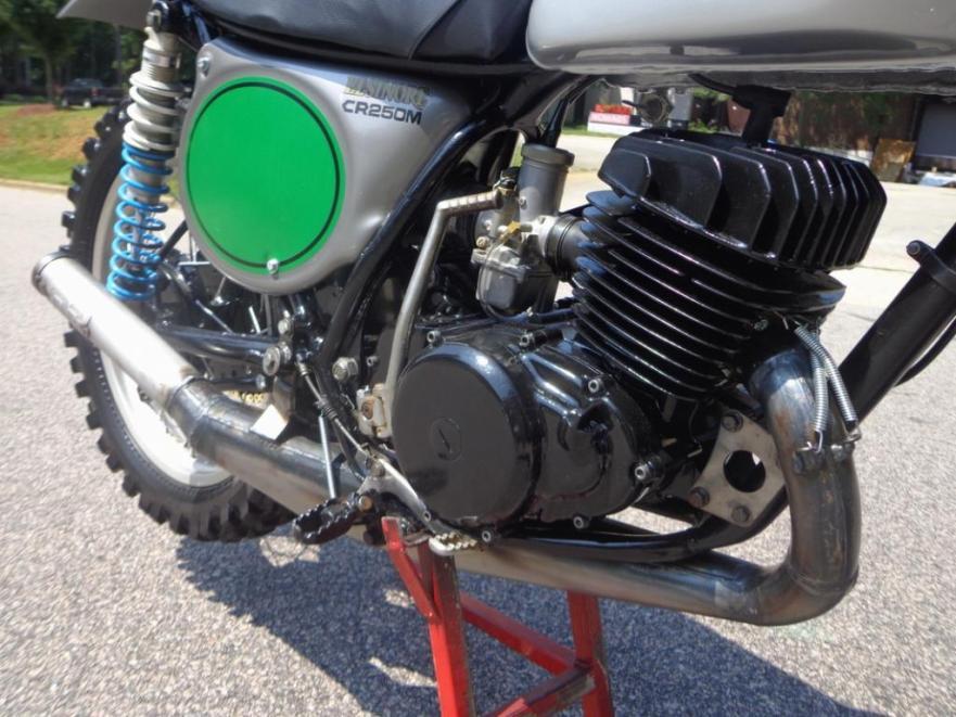 Honda CR250 Elsinore - Engine