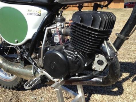 Honda CR250M Elsinore - Engine