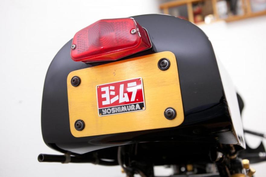 Honda CR750 - Yoshimura