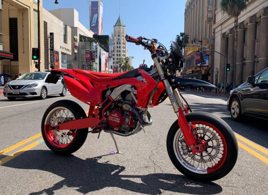 Street Legal Sumo 2013 Honda Crf450r Bike Urious