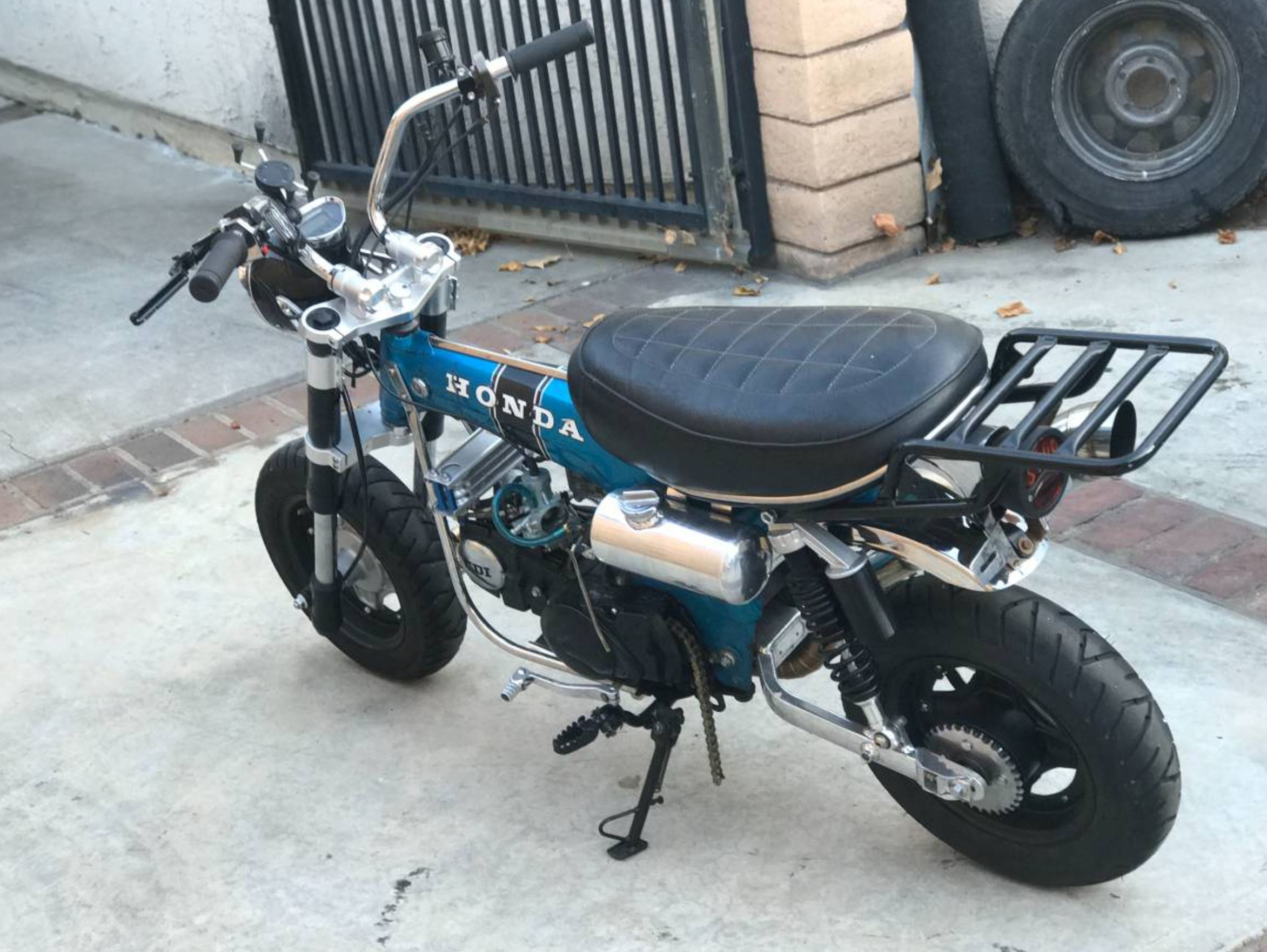 Double The Displacement 1979 Honda Ct70 Custom Bike Urious 1970 Mini Trail 50 Albeit It Begs Question Why Not Just Start With A Bigger If Performance Is Goal This