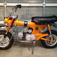 59 Miles - 1970 Honda CT70