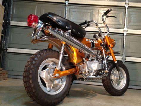 Honda CT70 - Rear Right