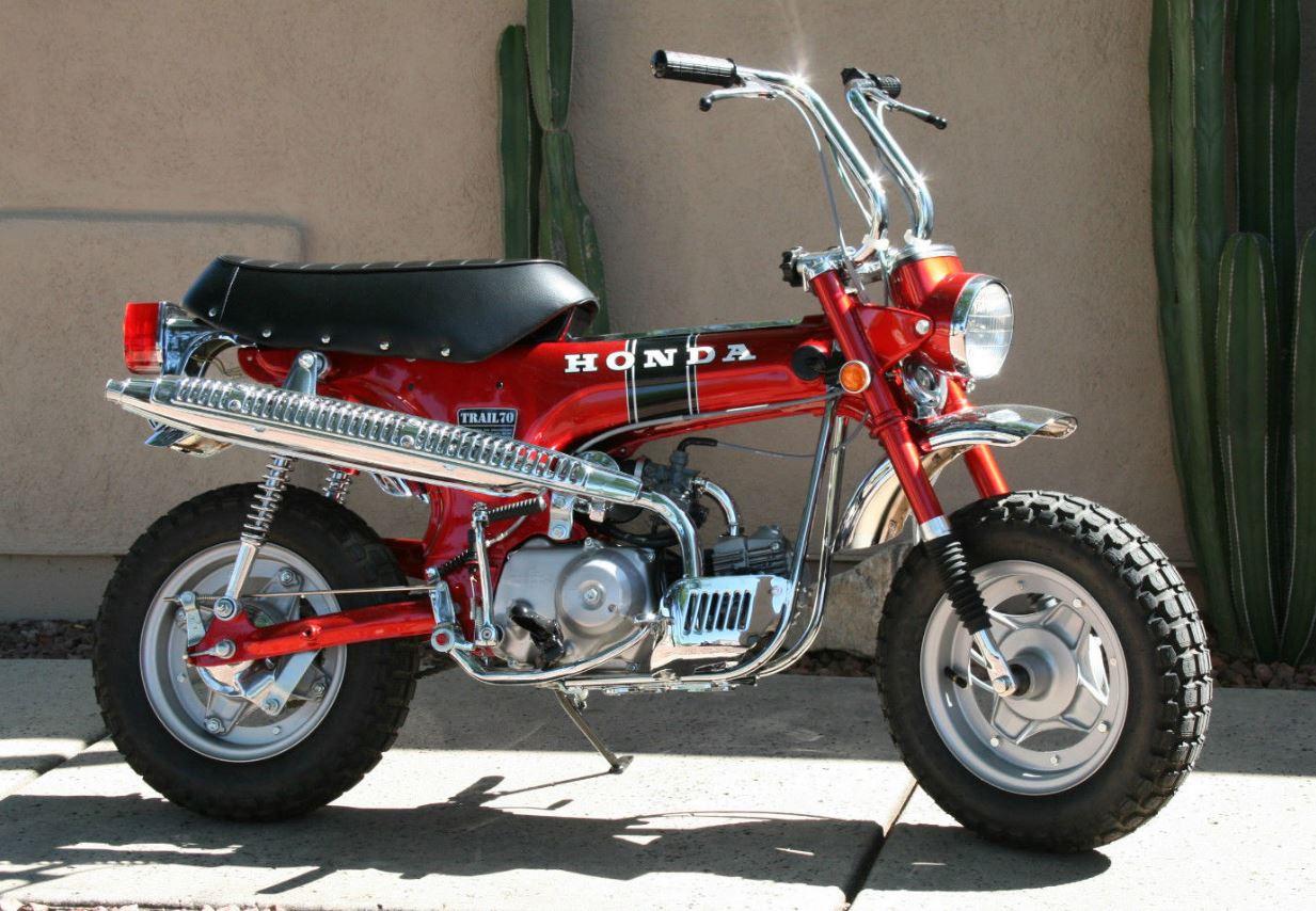 restored 1970 honda ct70 bike urious rh bike urious com Honda Trail 70 eBay Honda Z50
