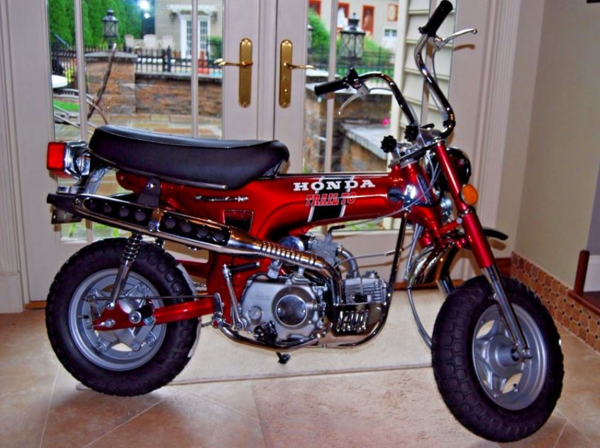 Restored 1972 honda ct70h bike urious restored 1972 honda ct70h sciox Image collections