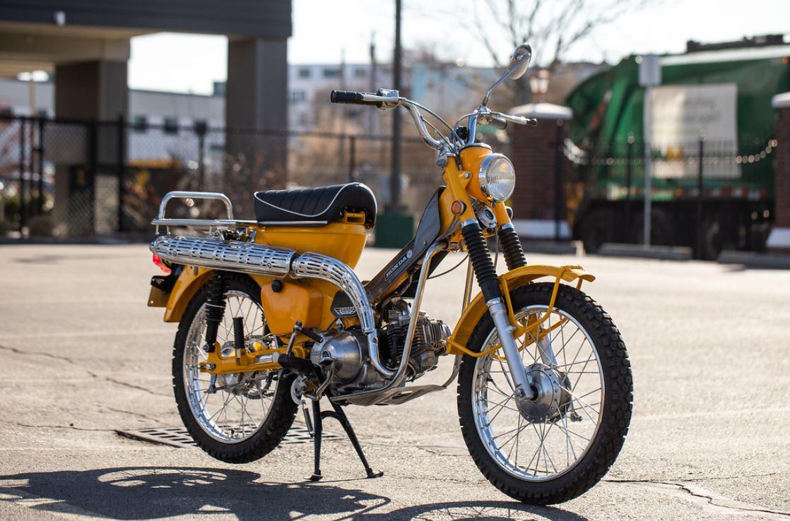 Restored 1969 Honda Ct90 Bike Urious