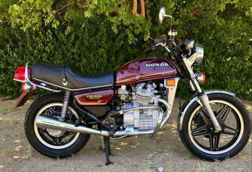 1979 honda cx500 deluxe bike urious. Black Bedroom Furniture Sets. Home Design Ideas