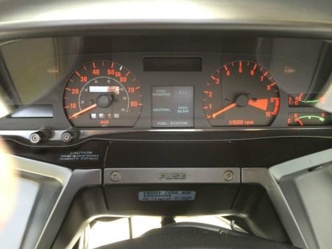Honda CX500 Turbo - Gauges