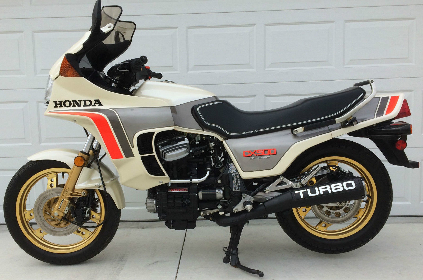 190 miles 1982 honda cx500 turbo bike urious. Black Bedroom Furniture Sets. Home Design Ideas