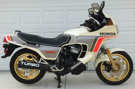 Honda CX500 Turbo - Right Side