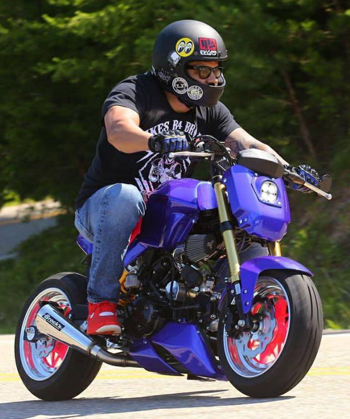 Heavily Customized 2014 Honda Grom Bike Urious