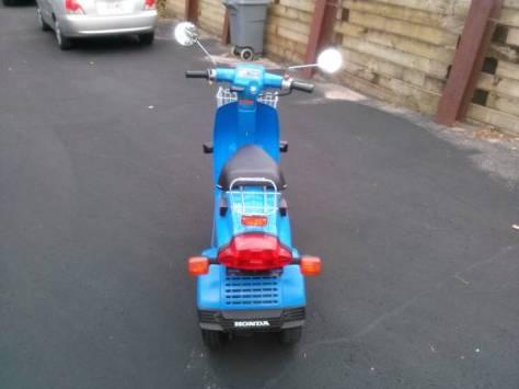 Honda Gyro - Rear