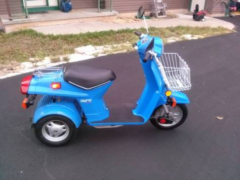 Honda Gyro - Right Side