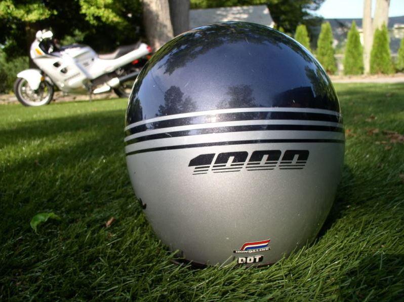 Honda Hurricane - matching helmet