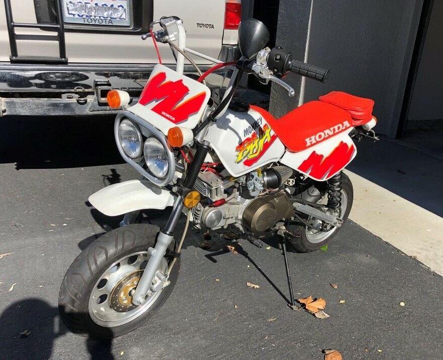 Rare In The Us Honda Monkey Baja Bike Urious