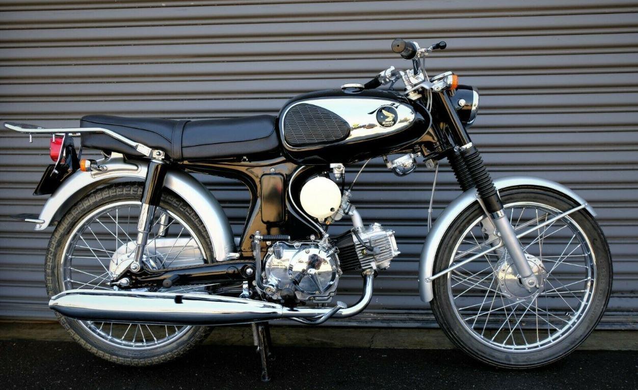 Show Winner – 1966 Honda Benly 90
