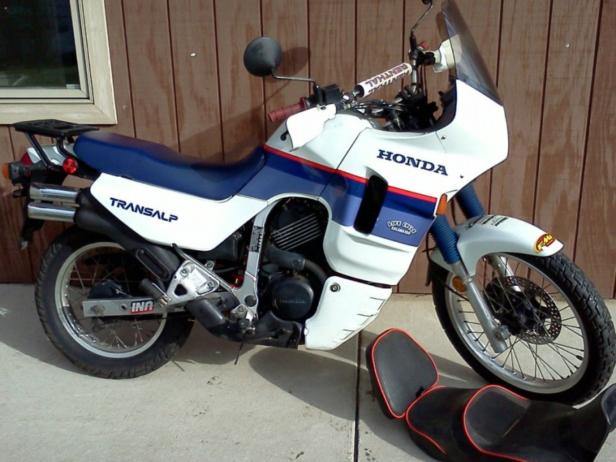 Honda Transalp - Right Side