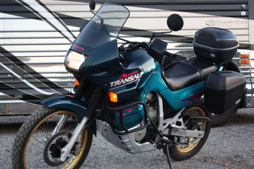 Rare Dual Sport – 1995 Honda Transalp XL400V | Bike-urious