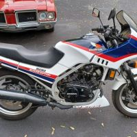 1984 Honda VF500F Interceptor