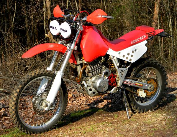 Honda XR650L - 1