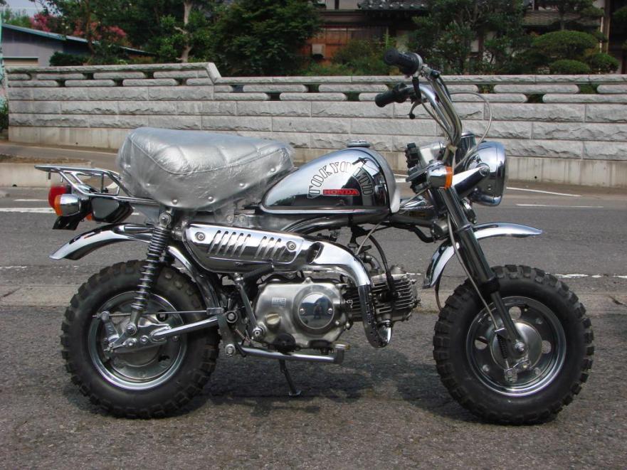 Honda Z50R - Right Side
