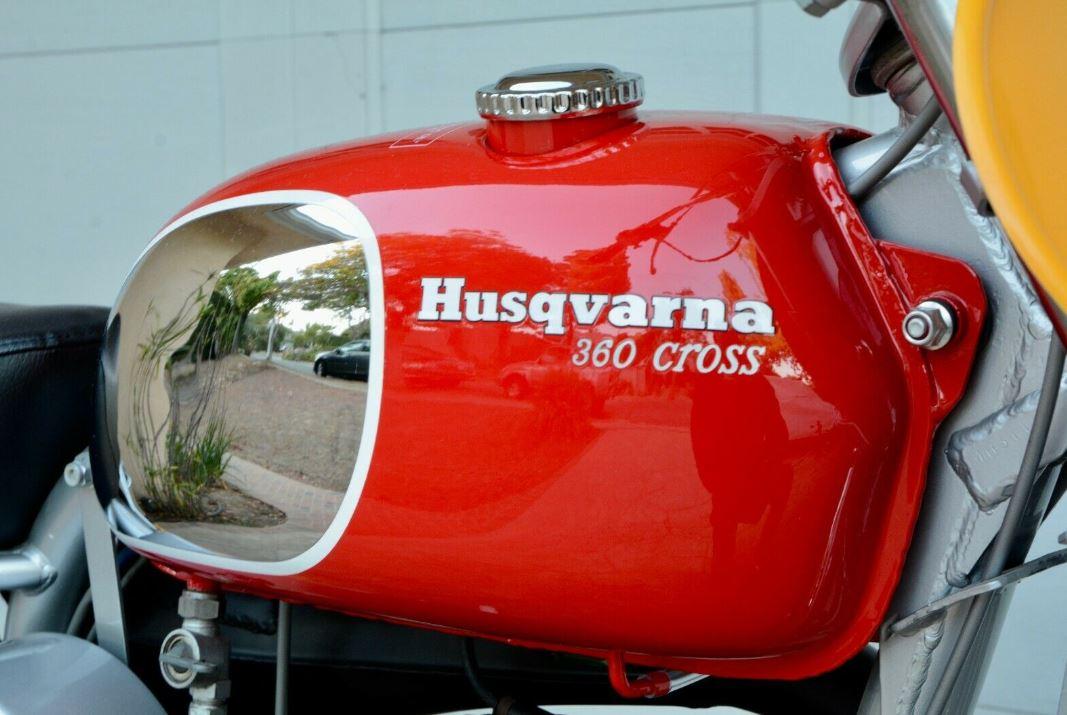 Restored – 1970 Husqvarna 360 Cross