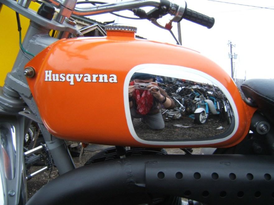 Husqvarna 450 WR - Tank